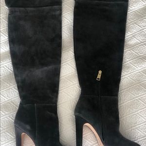 Joie Suede Thigh High Boots (Never Been Worn)